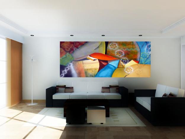 Cuadros modernos para decoraci n de casas for Cuadros al oleo modernos para comedor