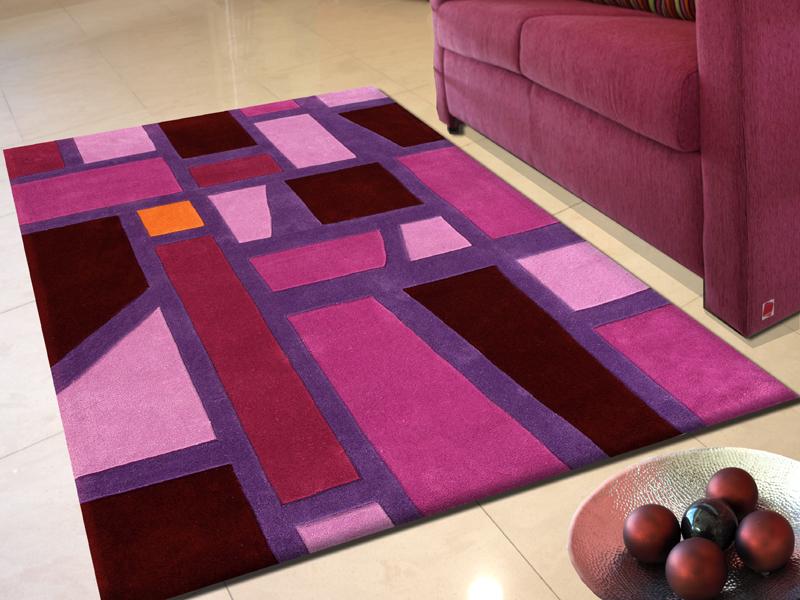 Alfombras modernas para el dise o de interiores - Alfombras de pasillo modernas ...
