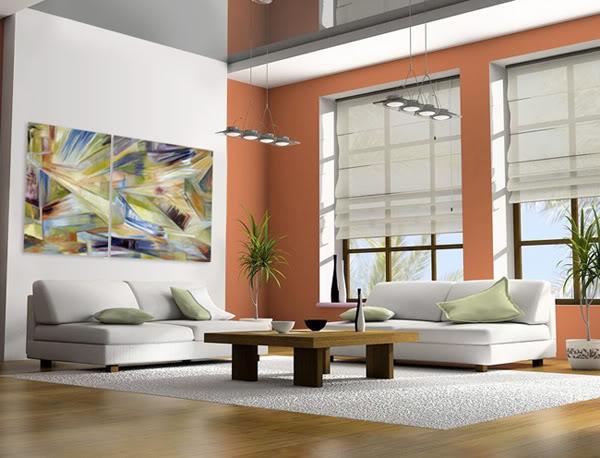 Cuadros abstractos modernos y exc ntricos - Cuadros abstractos minimalistas ...