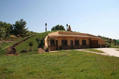 Casas ecol gicas cu les son los principios de la - Construccion de casas ecologicas ...