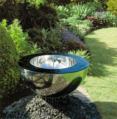 Cascadas rocallas fuentes y adornos para tu jardin - Fuente de pared para jardin ...