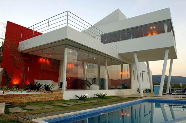 Tinas De Baño Triangulares:Mountain Contemporary Home Designs
