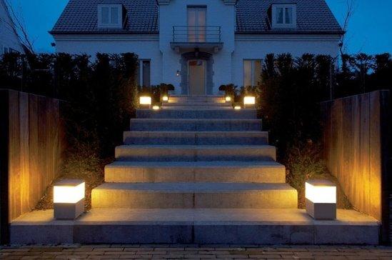 Concept studio - Iluminacion exterior jardin ...