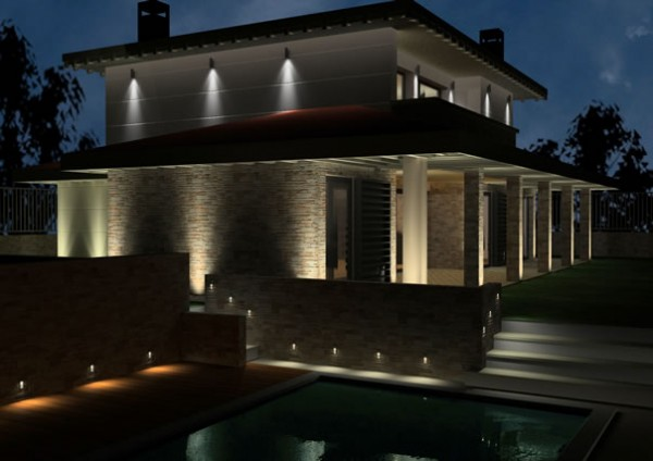 Concept studio consejos tiles para la for Luces led para casas exterior