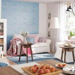 Living room con colores primaverales