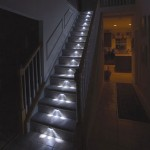 Iluminación de escaleras con triple LED