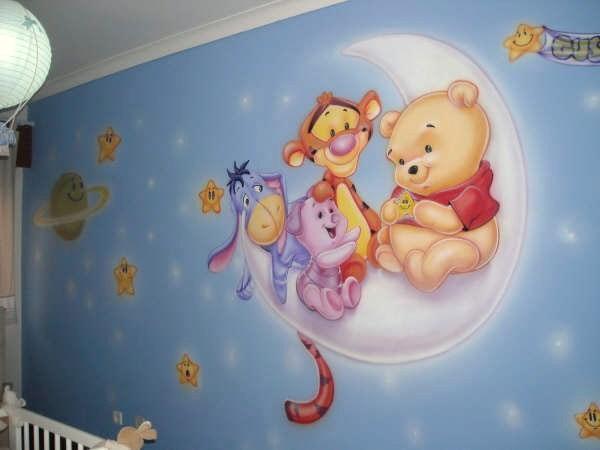 Murales infantiles para preescolar imagui - Dibujos infantiles para decorar paredes ...