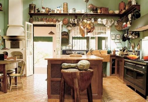 Pon linda tu casa decoraci n de cocinas rusticas - Adornos para cocina rustica ...