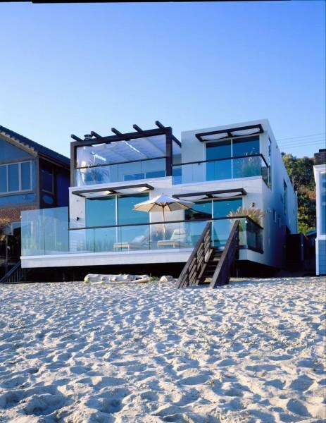 casa con bajada a la playa