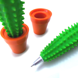 regalos para navidad lapicera cactus