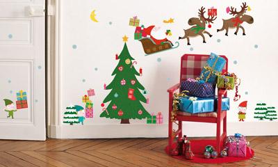 vinilo decorativo navideño habitacion