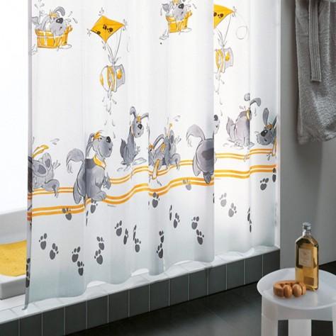 cortina ducha niños