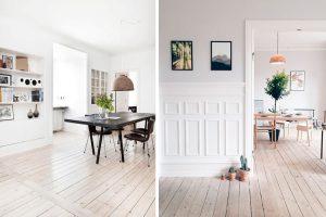 ejemplo de piso claro y unificado