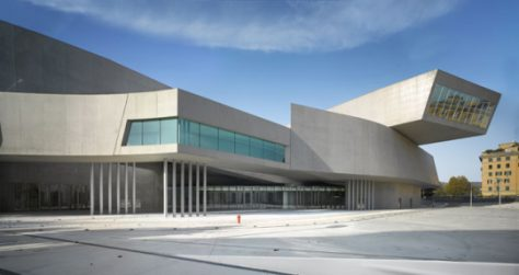 Museo Nacional de Arte del Siglo XXI en Roma Zaha Hadid