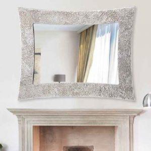 Espejo plata reflectante
