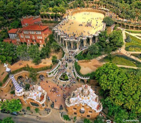 Parque Güell de Antoni Gaudí