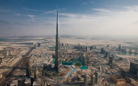 Burj Khalifa, uno de los edificios más altos del mundo