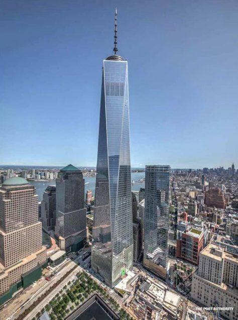 1WTC es uno de los edificios más altos del mundo