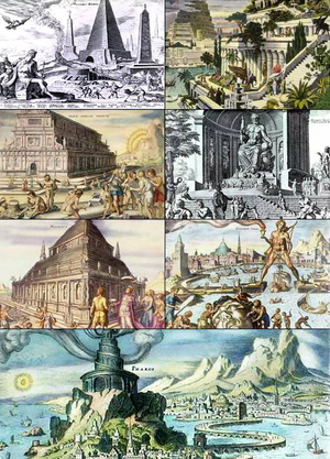 Próximamente las siete maravillas del mundo antiguo