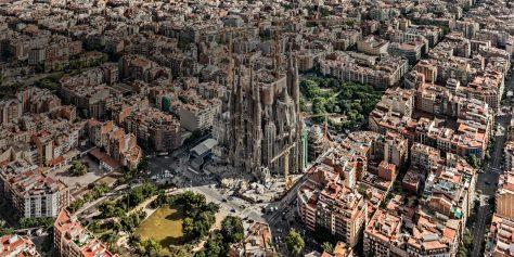 La Sagrada Familia de Antoni Gaudí