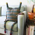 almohadones decorativos de monstruos