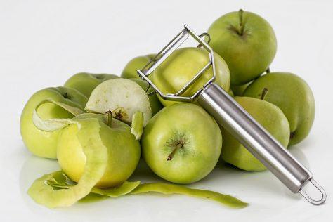 utensilios de cocina como el pelador son muy útiles
