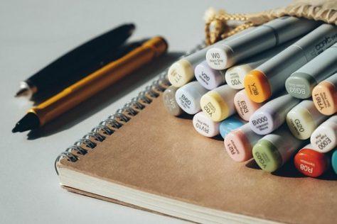 material para decorar cuadernos