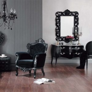 habitación estilo gótico