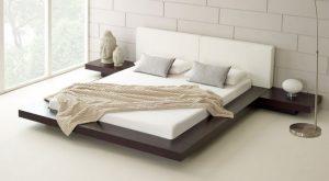 decorar una cama minimalista