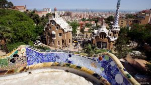 El Park Güell de Antoni Gaudí
