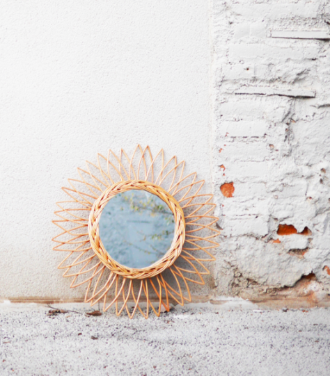 decorar un balcón con espejos decoratvios