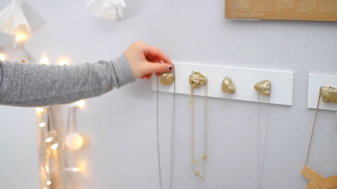 manualidades fáciles: joyero de piedras