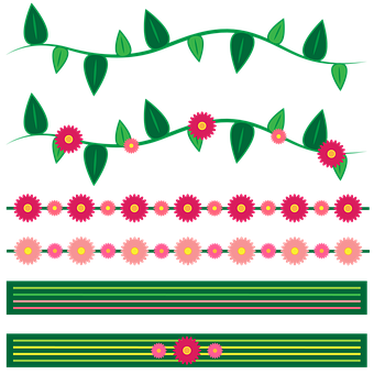 Borders para decorar cuadernos