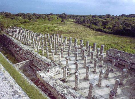 Las mil columnas de Chichén Itzá