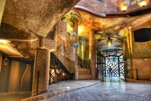 La Pedrera de Barcelona por Antoni Gaudí
