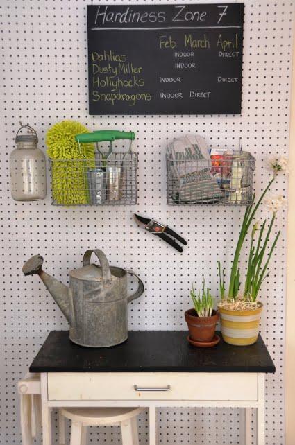 Ideas para decorar con panel perforado