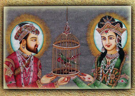 Taj Mahal fue creado por shah Jahan