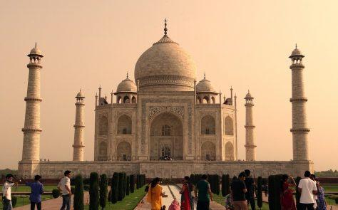 Cúpula del Taj Mahal