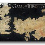 Alfombrilla estilo juego de tronos