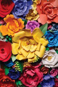 flores estilo mexicano