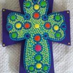 cruz de estilo mexicano