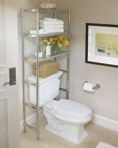 ideas para aprovechar espacios en el baño