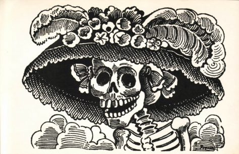 La primera catrina estilo mexicano