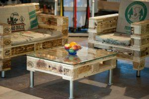 muebles reciclados con palets o tarimas