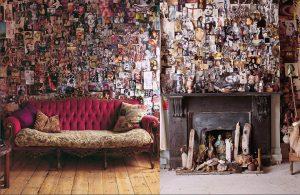 Decorar con fotos toda la pared