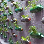 muebles reciclados con botellas